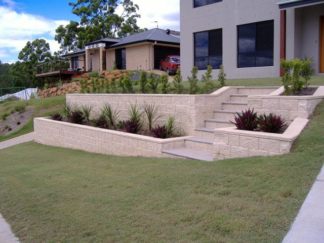 Front Yard Retaining Walls Click To Enlarge