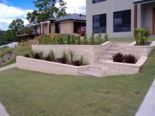Front Yard Retaining Walls