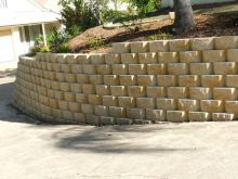 Curved Retaining Walls